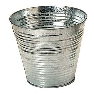 August Grove Galvanized Metal Bucket