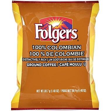Folgers - Café moulu 100 % colombien, pré-mesuré, 39,7 g (1,4 oz), bte/42