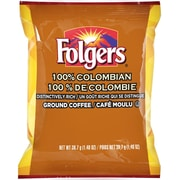 Folgers 100% Colombian Pre-Measured Ground Coffee, 39.7 g (1.4 oz.), 42/Pack