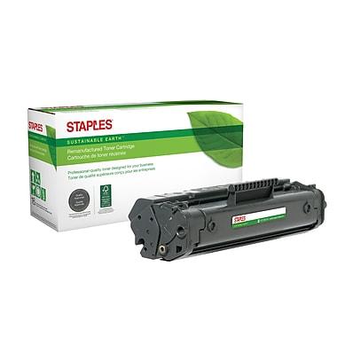 Staples Sustainable Earth - Cartouche de toner noir, remise à neuf, HP 92A (C4092A) (SEB92AR)