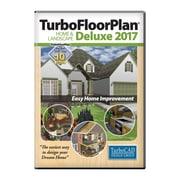 Logiciel TurboFloorPlan Home & Landscape Deluxe 2017, Mac [Téléchargement], anglais