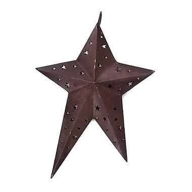 August Grove Rustic Primitive Star Wall D cor; 6'' H x 6'' W