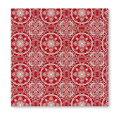 Darby Home Co 'Christmas in Plaid Red' Graphic Art Print on Canvas