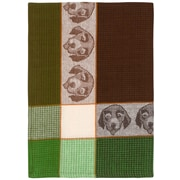 Red Barrel Studio Puppy Face 100pct Hand Woven Cotton Dishcloth (Set of 6)