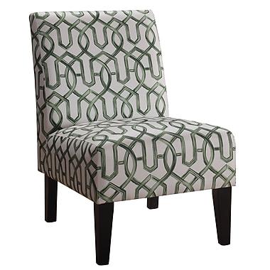 iNSTANT HOME Karina Slipper Chair; Greenery