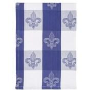 Fleur De Lis Living Fleur De Lis Check 100pct Hand Woven Cotton Dishcloth (Set of 6)