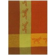 Loon Peak Patterned Fox 100pct Cotton Dishcloth (Set of 6)