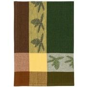 Loon Peak Pine Bough 100pct Hand Woven Cotton Dishcloth (Set of 6)