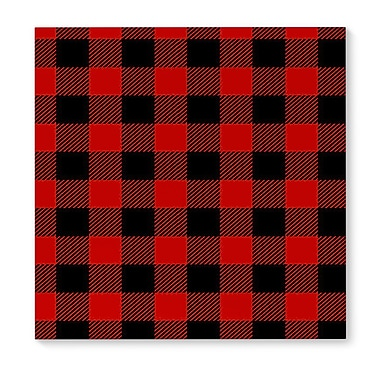 Loon Peak 'Plaid' Graphic Art Print on Canvas
