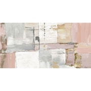 Varick Gallery 'Axis I Light Panel' Print on Wrapped Canvas; 17'' H x 34'' W
