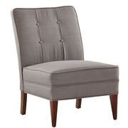 Charlton Home Royalwood Slipper Chair; French Gray