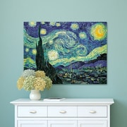 Winston Porter 'Starry Night' by Vincent Van Gogh Oil Painting Print on Wrapped Canvas