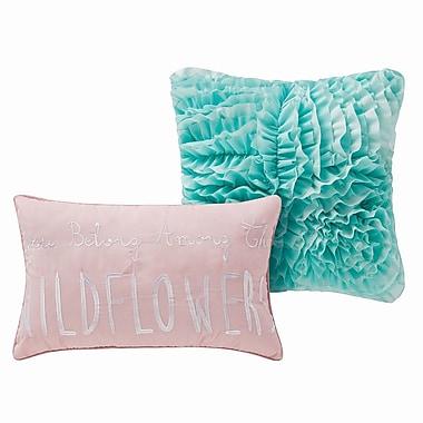 Ivy Bronx Bianco 5 Piece Reversible Comforter Set; Twin