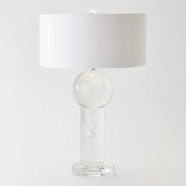 Global Views Clear Bubble 33'' Table Lamp