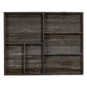 Loon Peak Auerbach Reclaimed Wood Wall Shelf