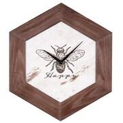 August Grove Bee Happy Tabletop Clock