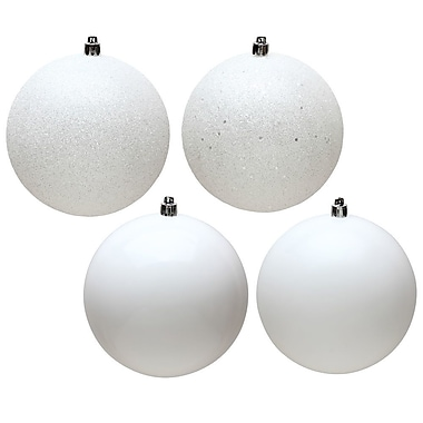 The Holiday Aisle 12 Piece Christmas Ball Ornament (Set of 12)