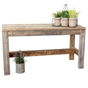 August Grove Marsh Reclaimed Wood Bench; Natural