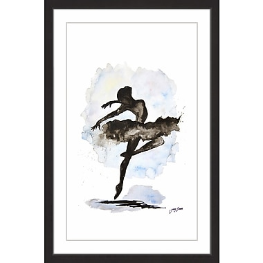 Latitude Run 'Life Is a Dance' Framed Watercolor Painting Print; 30'' H x 20'' W
