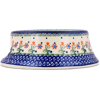Polmedia Spring Flowers Polish Pottery Decorative Bowl