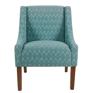 Ebern Designs Elston Armchair; Teal