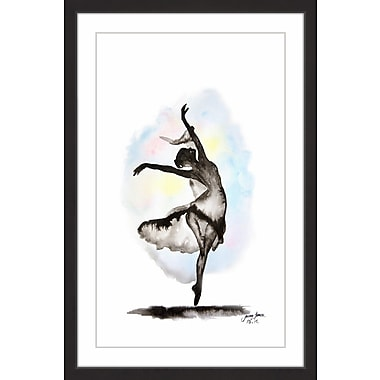 Latitude Run 'To Be Free' Framed Watercolor Painting Print; 60'' H x 40'' W