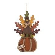 Glitzhome Wooden Turkey Decor