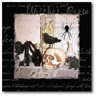 The Holiday Aisle 'Witch's Brew I' Graphic Art Print on Canvas