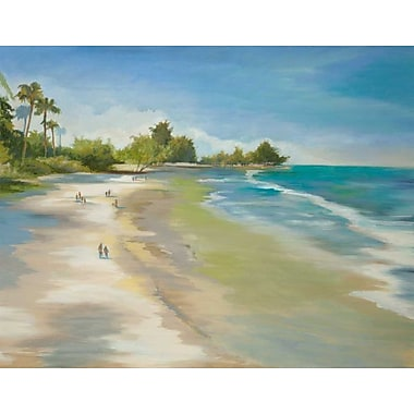 Highland Dunes 'Summer Bliss' Print on Wrapped Canvas; 16'' H x 20'' W