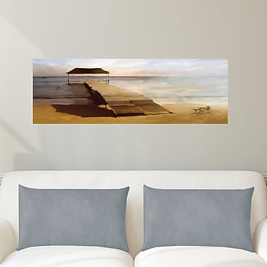 Highland Dunes 'The Jetty' Print on Canvas; 12'' H x 36'' W