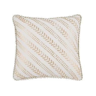 Mercer41 Bayles Foil Print Square Throw Pillow