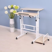 Symple Stuff 2 Tier Sit and Stand Desk