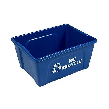 Busch Systems Deskside 3 Gallon Recycling Bin