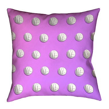 East Urban Home 26'' Square Ombre Volleyball Euro Pillow
