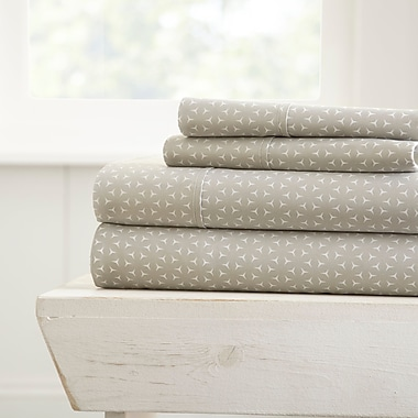 George Oliver Bergen Microfiber Sheet Set; Queen