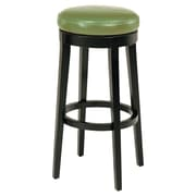 Orren Ellis Bohnsack 26'' Swivel Bar Stool; Wasabi