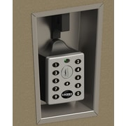 Lockey USA Digital Combination Electronic Locker Lock; Silver