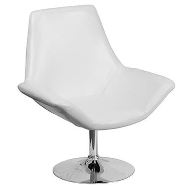 Orren Ellis Bouffard Reception Lounge Chair; White