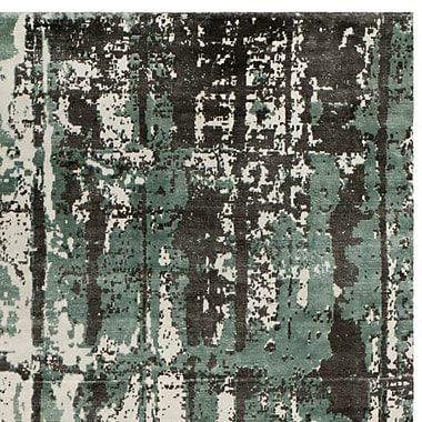 17 Stories Zowie Hand Woven Cotton Silver Area Rug; 8' x 10'