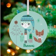 Oopsy Daisy Personalized All I Want for Christmas Mint Boy Hanging Ornament