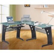 Orren Ellis Bramblett L-Shape Writing Desk
