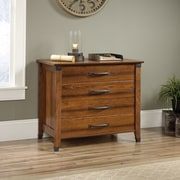 Loon Peak Newdale 4-Drawer Lateral Filing Cabinet; Washington Cherry
