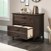 Loon Peak Newdale 4-Drawer Lateral Filing Cabinet; Coffee Oak