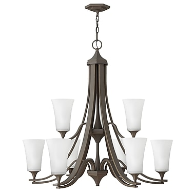 Red Barrel Studio Lurganville 9-Light Candle-Style Chandelier