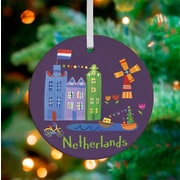 Oopsy Daisy Personalized Wander the World Netherlands Hanging Ornament