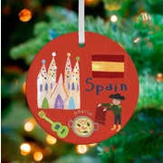 Oopsy Daisy Personalized Wander the World Spain Hanging Ornament