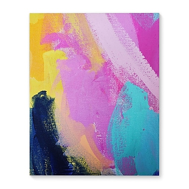 Varick Gallery 'Little Blooms' Vertical Graphic Art Print on Canvas