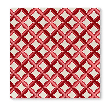 Brayden Studio 'Christmas in Plaid Red 2' Graphic Art Print on Canvas