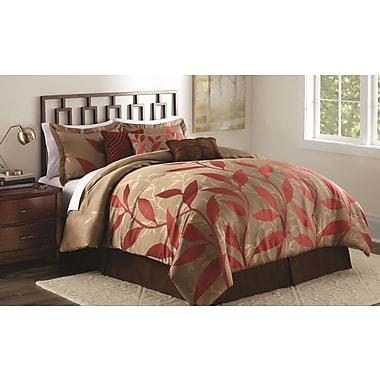 Red Barrel Studio Oneida 7 Piece Comforter Set; Queen