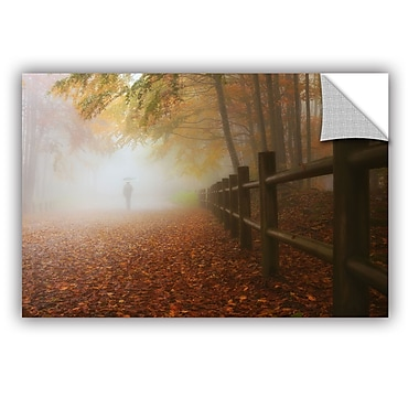 Ebern Designs 'My Way to Autumn' Photographic Print; 24'' H x 36'' W x 0.1'' D